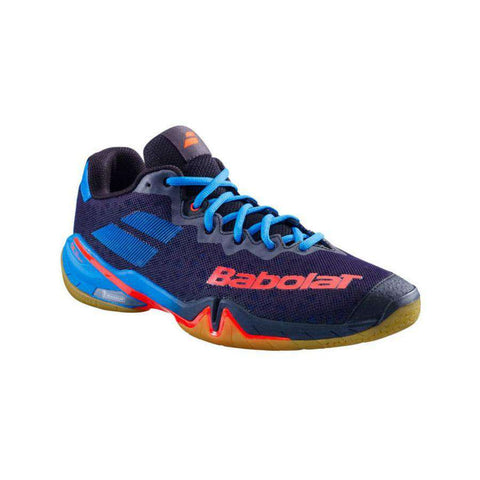Babolat Shadow Tour Blue/Yellow Men-Indoor Shoes-Le Coin Badminton | Pickleball | Tennis