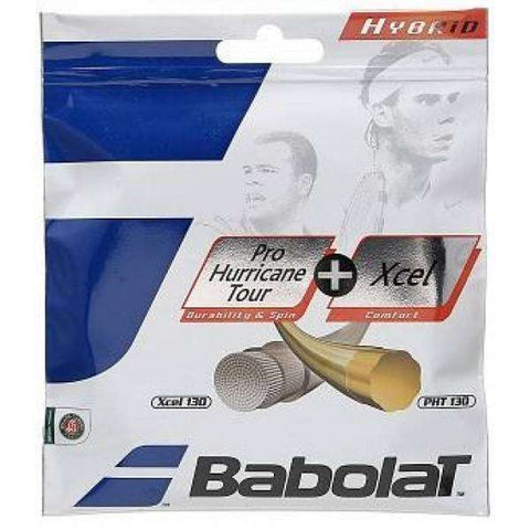 Babolat Pro Hurricane Tour 130/16 + Xcel 130/16-Tennis Strings-Le Coin Badminton | Pickleball | Tennis
