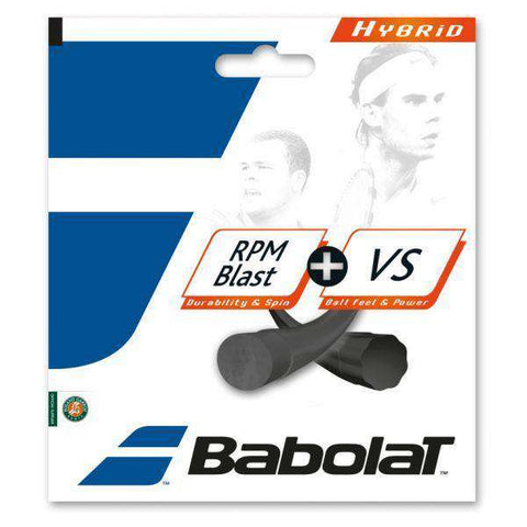 Babolat RPM Blast 125/17 + VS 130/16-Tennis Strings-Le Coin Badminton | Pickleball | Tennis