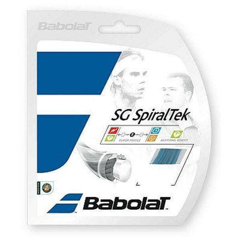 Babolat SG Spiraltek 130/16-Tennis Strings-Le Coin Badminton | Pickleball | Tennis