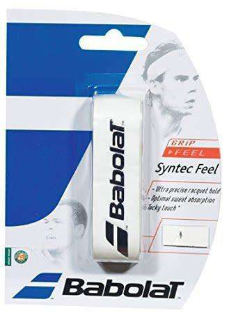 Babolat Syntec Feel White-Grips-Le Coin Badminton | Pickleball | Tennis