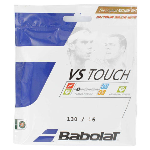 Babolat VS Touch Cordes 130 / 16-Tennis-Le Coin Badminton | Pickleball | Tennis