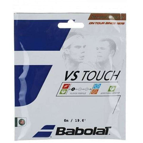 Babolat VS Touch 130/16 (6m)-Tennis Strings-Le Coin Badminton | Pickleball | Tennis