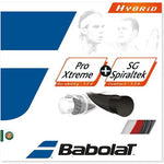 Babolat Pro Xtreme 125/17 + SG Spiraltek 130/16-Tennis Strings-Le Coin Badminton | Pickleball | Tennis