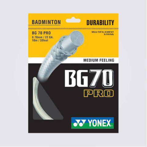 Yonex BG70 Pro (10m)-Badminton Strings-Le Coin Badminton | Pickleball | Tennis