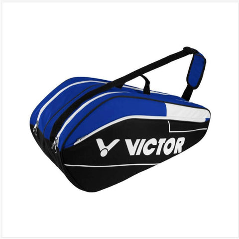 Victor BR6211 FC Blue/Black 2 compartments-Bags-Le Coin Badminton | Pickleball | Tennis