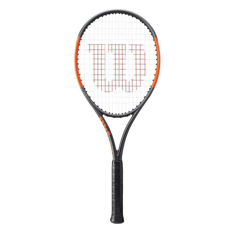 Wilson Burn 100 ULS Black/Orange-Tennis Racquets-Le Coin Badminton | Pickleball | Tennis