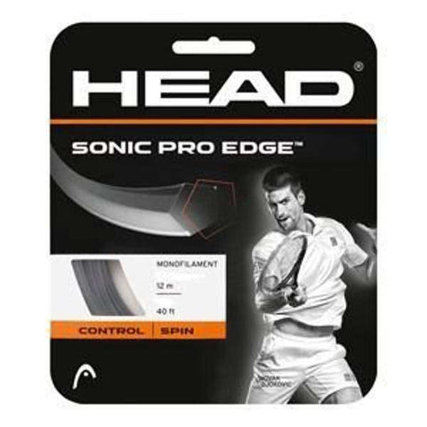 Head Sonic Pro Edge 16G Anthracite-Tennis Strings-Le Coin Badminton | Pickleball | Tennis
