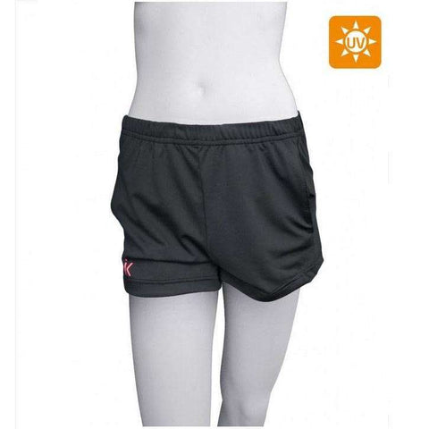 Ionik Short 2060UV Black-Women Apparel-Le Coin Badminton | Pickleball | Tennis