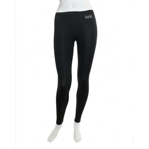 Ionik Legging 2230s Black-Women Apparel-Le Coin Badminton | Pickleball | Tennis