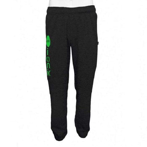 Ionik Pant 4902M Black / Silver Logo-Men Apparel-Le Coin Badminton | Pickleball | Tennis