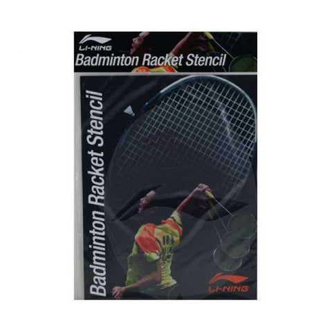 Li-Ning Badminton Racket Stencil-Ink & Stencils-Le Coin Badminton | Pickleball | Tennis