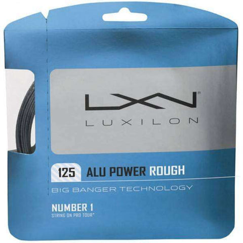 Cordes de tennis Luxilon AluPower Rough 125 - Le Coin Badminton | Pickleball | Tennis
