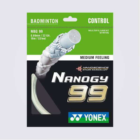 Yonex Nanogy 99 (10m)-Badminton Strings-Le Coin Badminton | Pickleball | Tennis