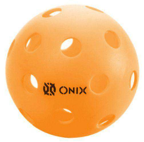 Onix Pickleball Pure 2 Indoor Orange-Pickleball Balls-Le Coin Badminton | Pickleball | Tennis