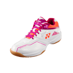 Yonex Power Cushion 36 L White/Pink-Indoor Shoes-Le Coin Badminton | Pickleball | Tennis