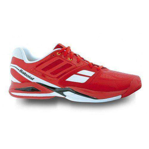 Babolat Shoe Propulse Team BPM All Court Red-Outdoor Shoes-Le Coin Badminton | Pickleball | Tennis