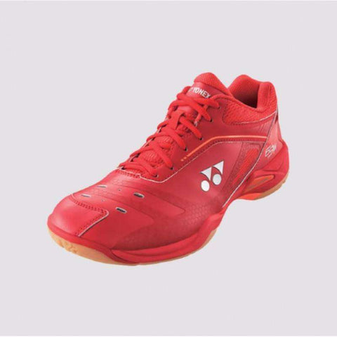 Yonex Power Cushion Chaussures d'intérieur 65 X Wide Red-Le Coin Badminton | Pickleball | Tennis