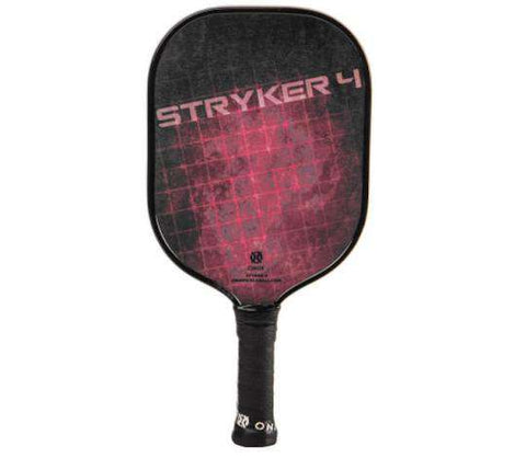 Onix Composite Stryker 4 Red-Pickleball Racquets-Le Coin Badminton | Pickleball | Tennis