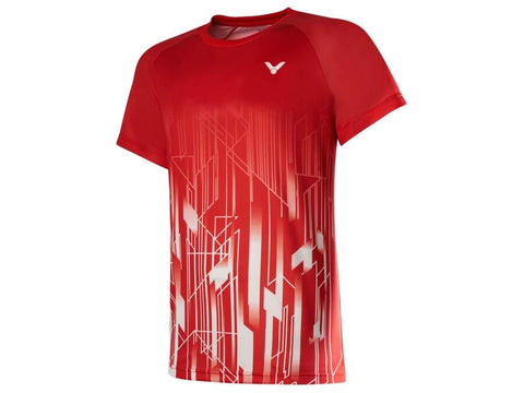 VICTOR T-00002TD D Danish National Team Shirt-Men Apparel-Le Coin Badminton | Pickleball | Tennis