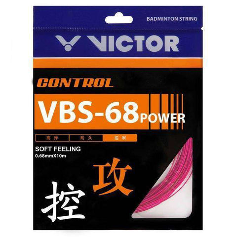 Victor VBS-68P String-Badminton Strings-Le Coin Badminton | Pickleball | Tennis