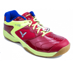 Victor AS9200W-DG Red/Green Men-Indoor Shoes-Le Coin Badminton | Pickleball | Tennis
