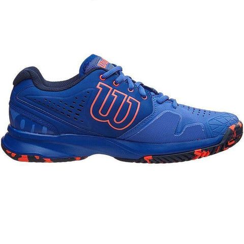 Wilson Kaos Comp W Amparo Blue-Outdoor Shoes-Le Coin Badminton | Pickleball | Tennis