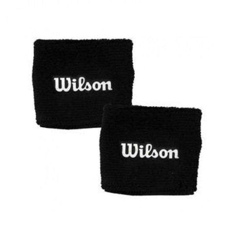 Wilson Poignets Black-Apparel - Accessories-Le Coin Badminton | Pickleball | Tennis