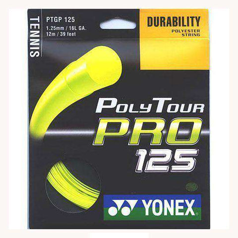 Yonex Poly Tour Pro 125-Tennis Strings-Le Coin Badminton | Pickleball | Tennis