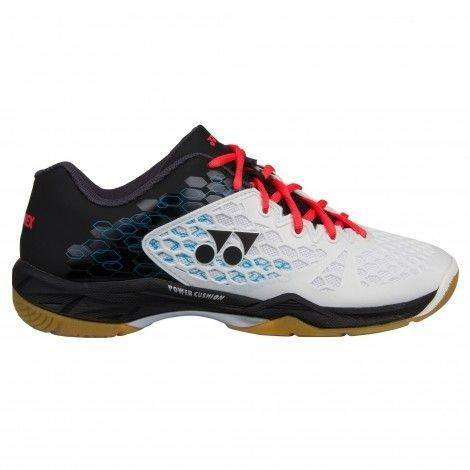 Yonex Power Cushion 03 M White/Black-Indoor Shoes-Le Coin Badminton | Pickleball | Tennis