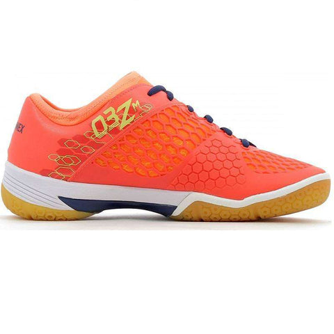Yonex Power Cushion 03Z M Coral Red-Indoor Shoes-Le Coin Badminton | Pickleball | Tennis