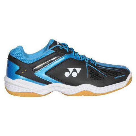 Yonex Power Cushion 35 M Black/Blue-Indoor Shoes-Le Coin Badminton | Pickleball | Tennis