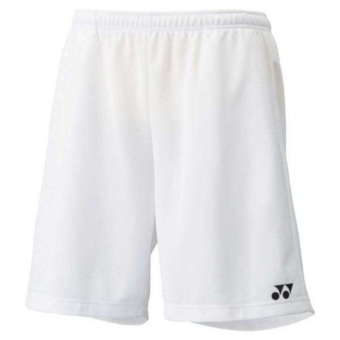 Yonex Shorts 15048 White-Men Apparel-Le Coin Badminton | Pickleball | Tennis