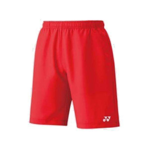 Yonex Shorts 15048 Red-Men Apparel-Le Coin Badminton | Pickleball | Tennis