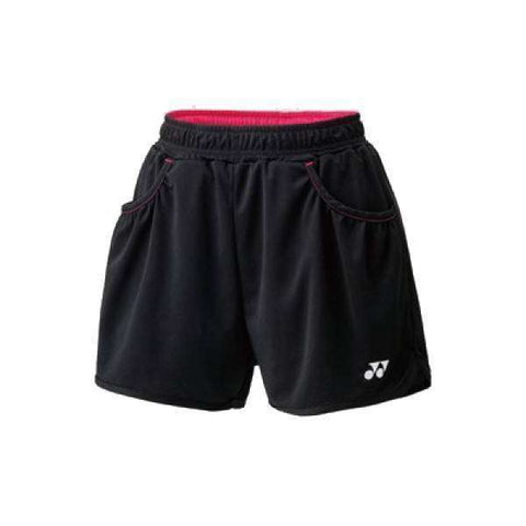 Yonex Shorts 25019 Black-Women Apparel-Le Coin Badminton | Pickleball | Tennis