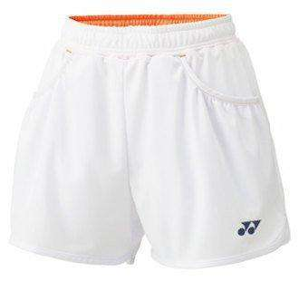 Yonex Shorts 25019 White-Women Apparel-Le Coin Badminton | Pickleball | Tennis