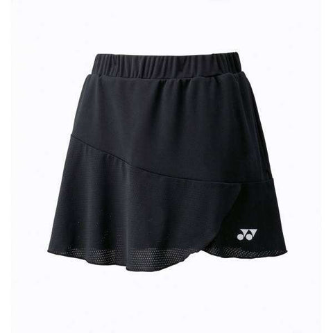 Yonex Skirt 26027 Black-Women Apparel-Le Coin Badminton | Pickleball | Tennis