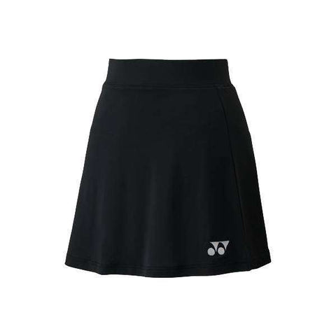 Yonex Skirt 26038 Black-Women Apparel-Le Coin Badminton | Pickleball | Tennis