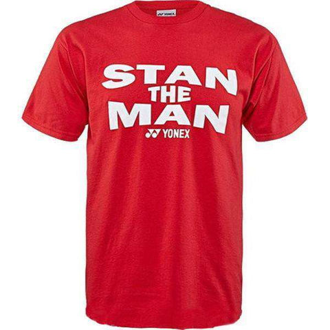 Yonex T-Shirt Stan The Man-Men Apparel-Le Coin Badminton | Pickleball | Tennis