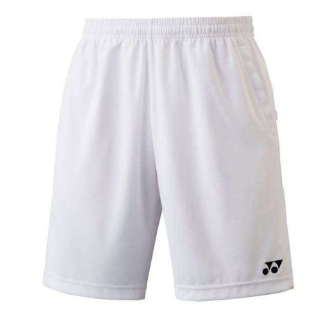 Yonex Shorts - YM0004 White-Men Apparel-Le Coin Badminton | Pickleball | Tennis