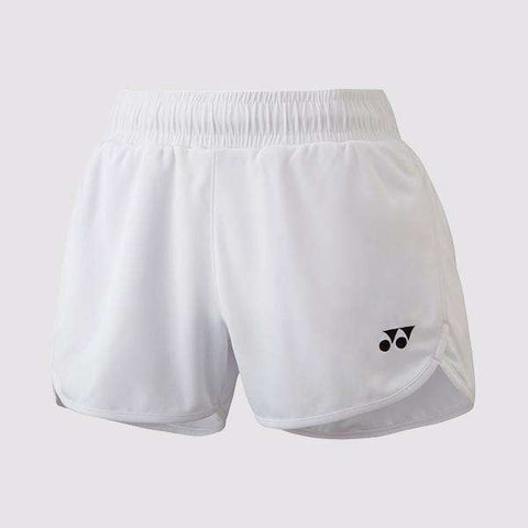 Yonex Short YW0004 White Women-Women Apparel-Le Coin Badminton | Pickleball | Tennis