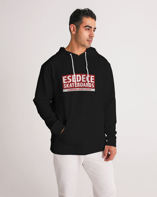 SKATE PHILOSOPHY BLACK HOODIE MAN - Esedece skateboards