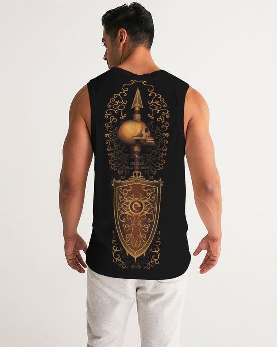 MARK OF CONQUEST BLACK MEN´S SPORT TANK - Esedece skateboards