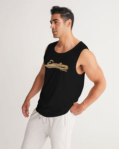 BASEBALL GOLD BLACK MEN´S SPORT TANK - Esedece skateboards