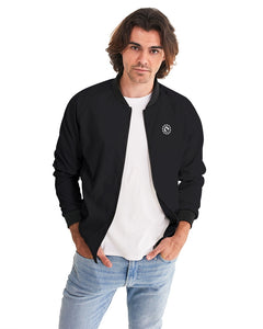 BASIC BLACK BOMBER JACKET - Esedece skateboards