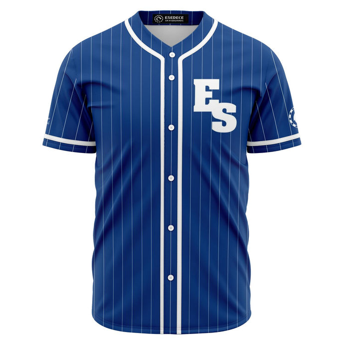 BASEBALL SKATER BLUE SHIRT - Esedece skateboards