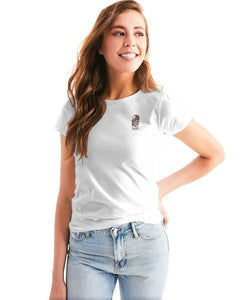 LUCKY GIPSY WHITE WOMEN´S TEE - Esedece skateboards