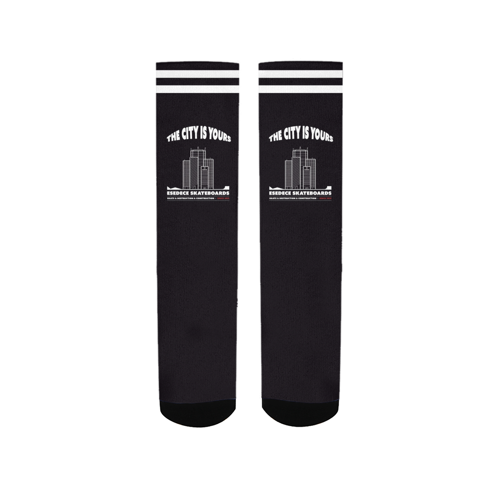 SKATE YOUR CITY SOCKS - Esedece skateboards