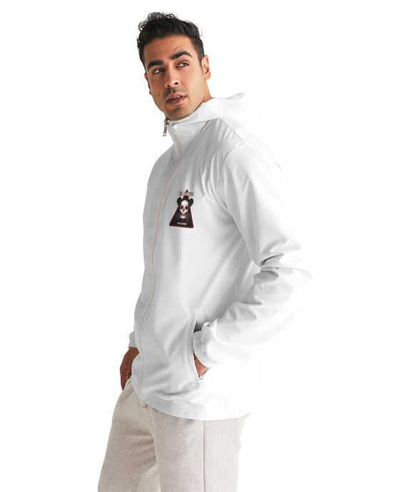 WHITE SKATE ZONE ZIP MEN´S WINDBREAKER - Esedece skateboards