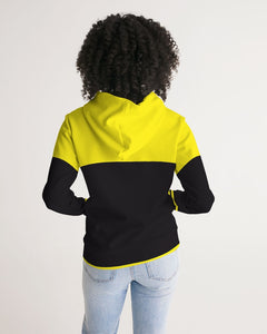 YELLOW IN BLACK WOMEN´S HOODIE - Esedece skateboards